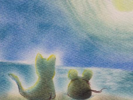 宮﨑潤子 個展「やわらかいろのものがたり 夏」