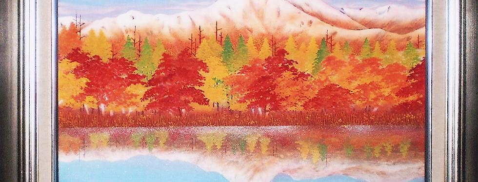 秋の穂高 F8 山口渓華