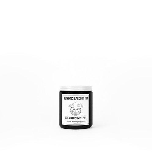 Pre-Mixed Black Pine Tar Sample: 8 oz