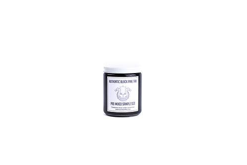 Pre-Mixed 50/50 Black Pine Tar: 8 oz & 5 Gallon