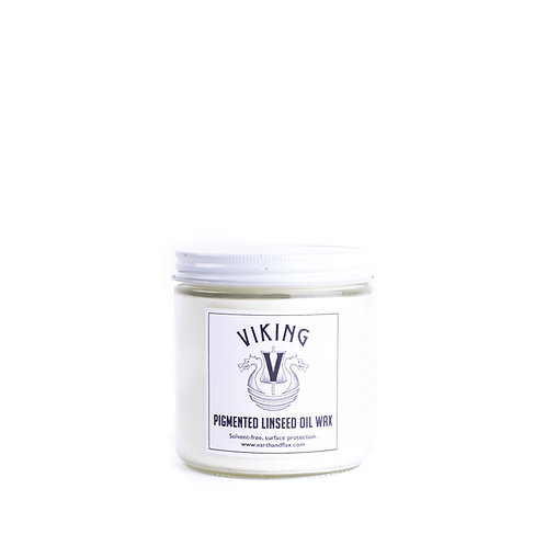 Viking Pigmented Linseed Oil Wax: White