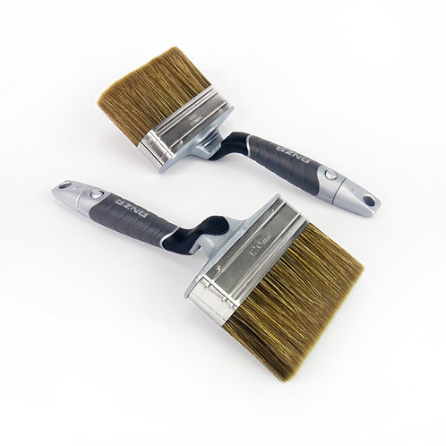 Anza Paint Brush: 120 mm Natural and Synthetic Bristles