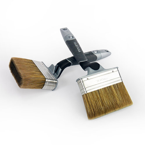 Anza Paint Brush: 100 mm Natural and Synthetic Bristles