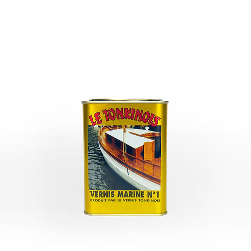 Le Tonkinois No. 1 Linseed Oil Varnish: 1 Liter