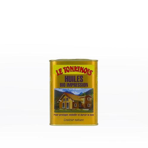 Le Tonkinois Bio Impression Linseed Oil Varnish Primer: 1 Liter