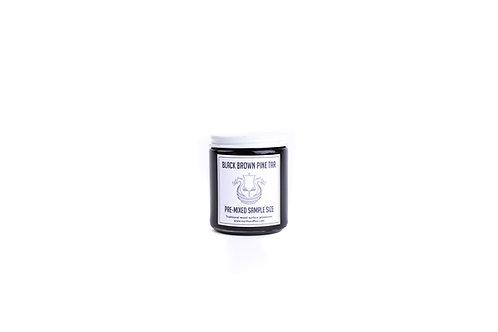 Pre-Mixed 50/50 Black-Brown Pine Tar Sample: 8 oz