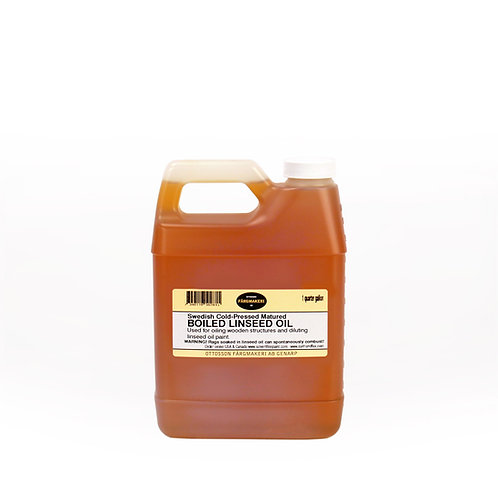 Ottosson Purified Boiled Linseed Oil: 1 Quart