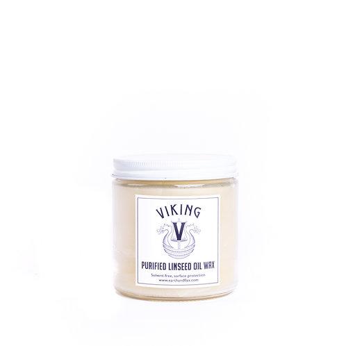 Viking Natural Purified Linseed Oil Wax: 16 oz