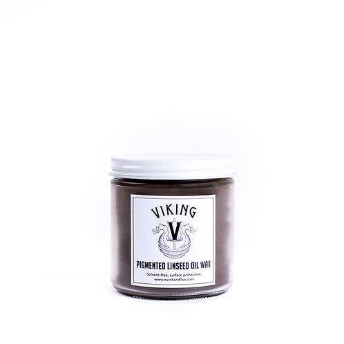 Viking Pigmented Linseed Oil Wax: Oak