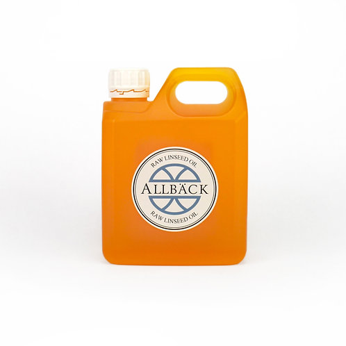 Allback Raw Linseed Oil: 1 Liter