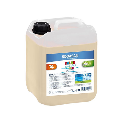 Sensitive Color Liquid Laundry Detergent: 5 liter