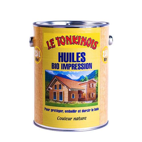 Le Tonkinois Bio Impression Linseed Oil Varnish Primer: 2.5 Liter