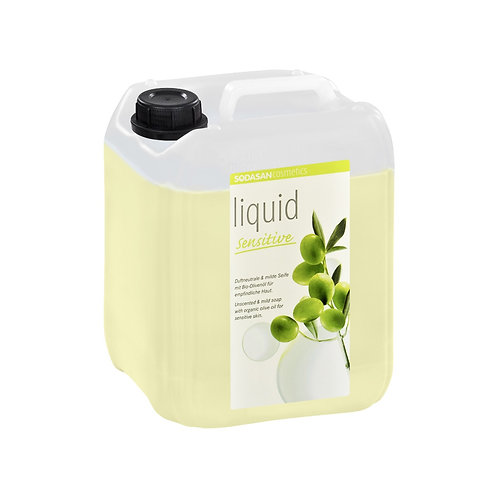 Sensitive Liquid Hand Soap: Bulk Refill 5 Liter