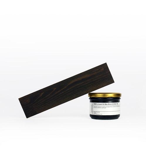 Allback Linseed Oil Black Wax: 7 oz Sample.