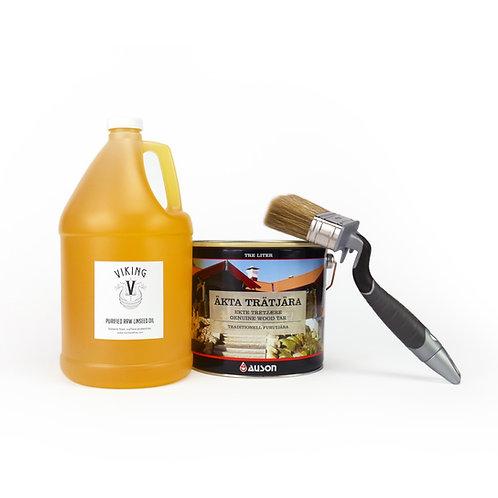 Dark Pine Tar Kit