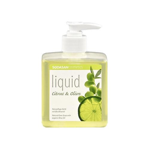 Citrus-Olive Liquid Hand Soap: 300 ml w/Dispenser
