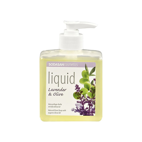 Lavender-Olive Liquid Hand Soap: 300 ml w/Dispenser
