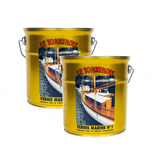 2 Pack: 2.5 Liter Le Tonkinois No. 1 Linseed Oil Varnish