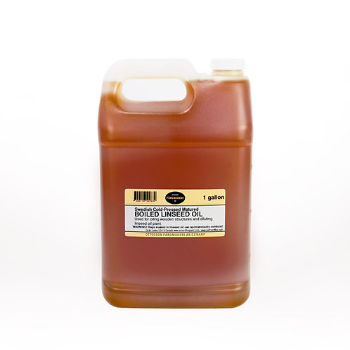 Ottosson Purified Boiled Linseed Oil: 1 Gallon