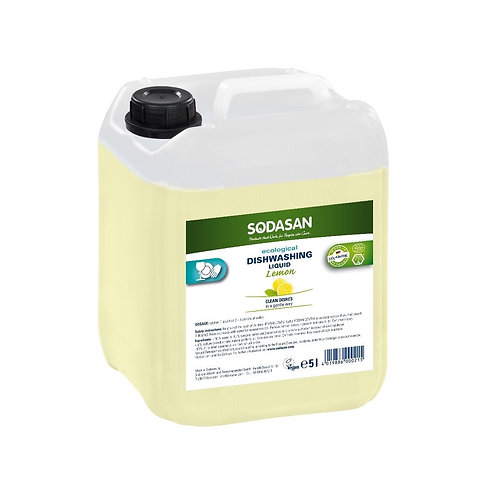 Eco-Friendly Liquid Dish Soap: Lemon Bulk Refill 5 Liter