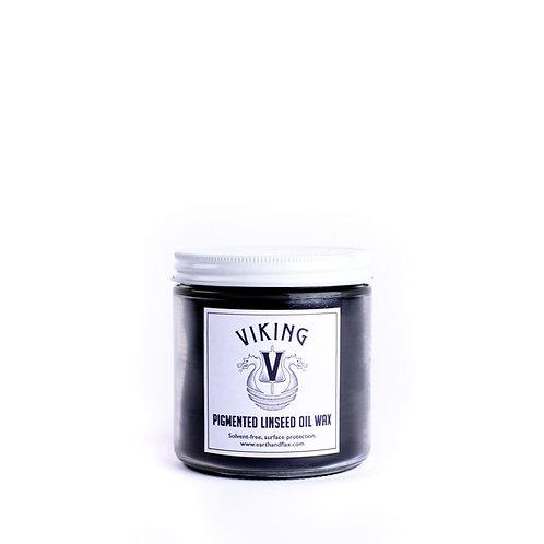 Viking Pigmented Linseed Oil Wax: Black