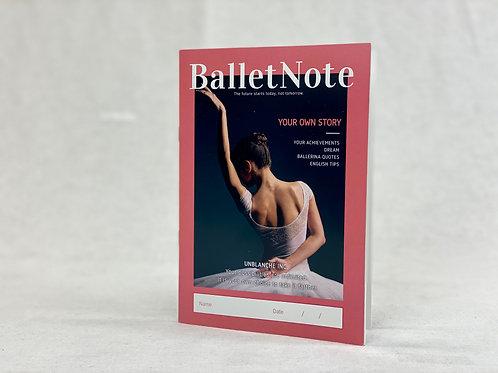 UNBLANCHE Ballet Note