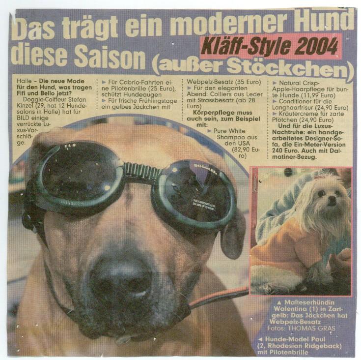 Jahr 2001 BILD Zeitung