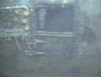 An open hatch on the Robert E. Lee