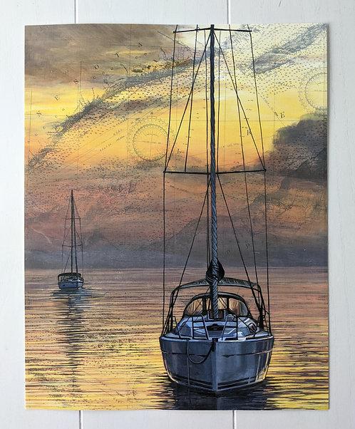 Superior Sunset | Signed 11'' x 14'' Print