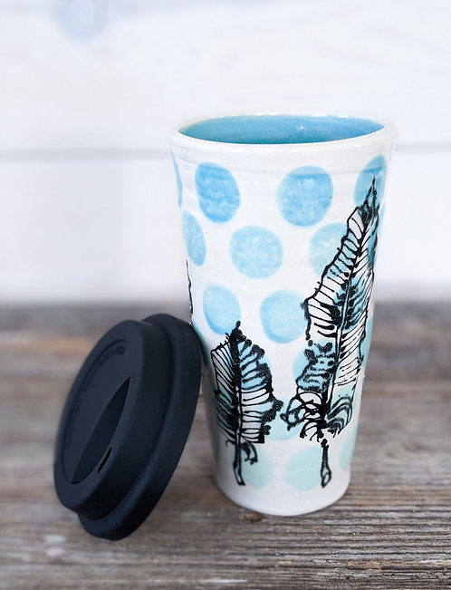 Jade Feather Tumbler