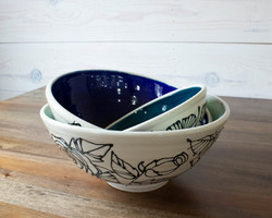 Botanical Bowl Set of 3