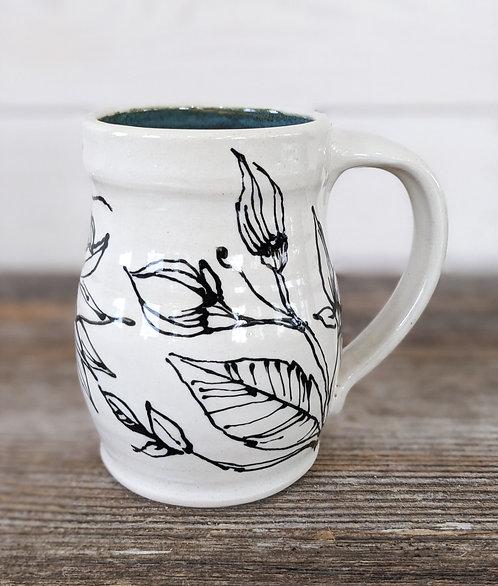 Tourmaline Hummingbird Large Mug