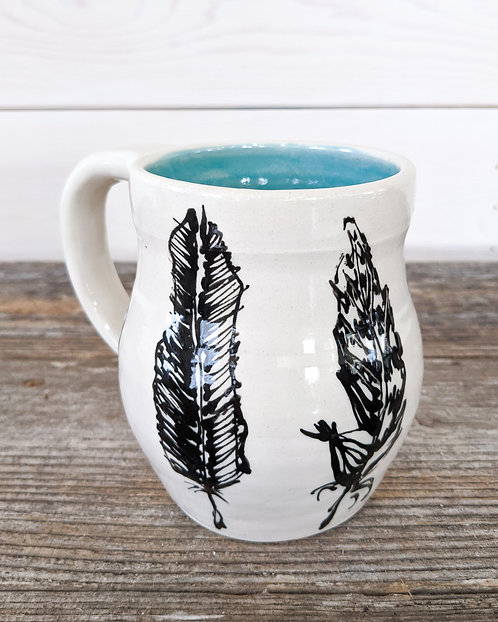 Jade Feather Mug