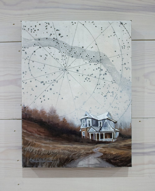 The Road Home | 9x12 | Original Painting on Canvas