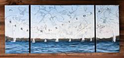 Sailing Triptych