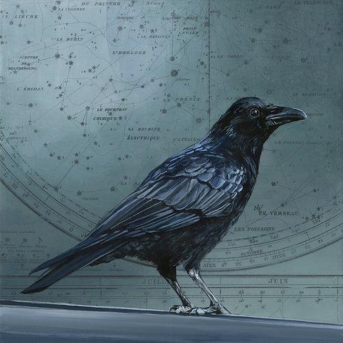 Celestial Crow #1 | 12'' x 12''