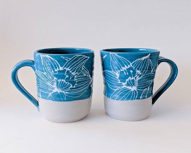 Daffodil Mug Set
