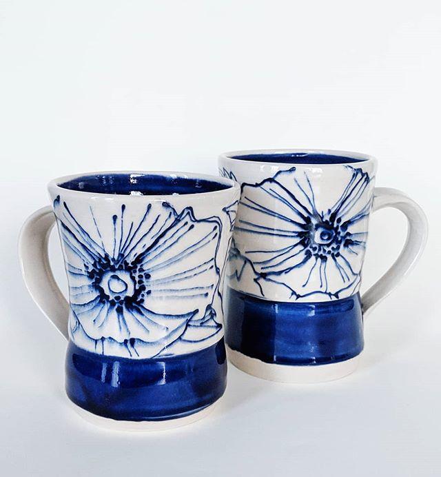 Poppy Mug Set