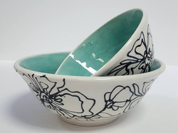 Two Bowl Set (Turquoise)