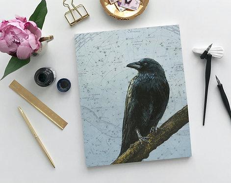 Signed Giclee Crow Print | 8'' x 10''