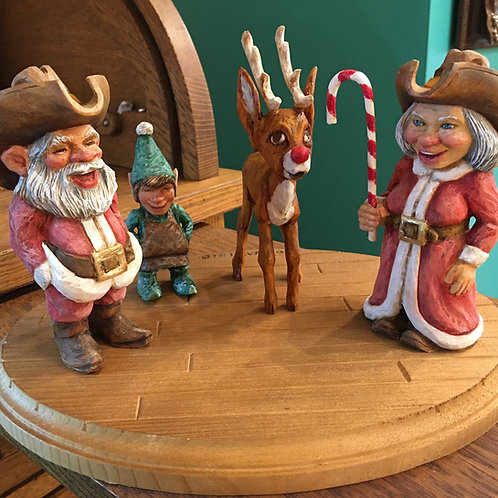 WHIMSICAL SANTA CLAUS BY WAKEFIELD
