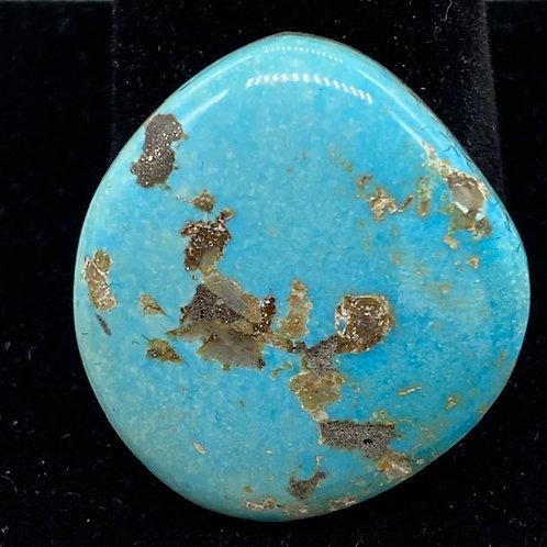 Morenci cabochon stone