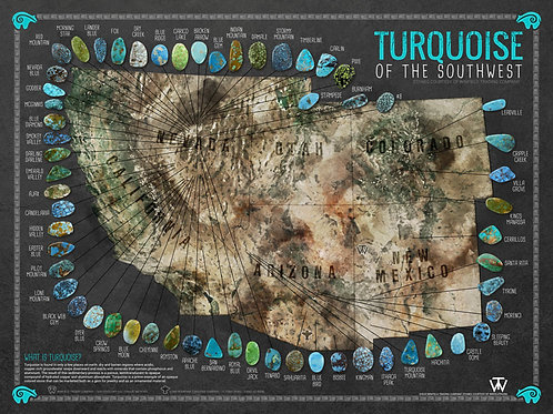 Latest SW Turquoise Mines MAP