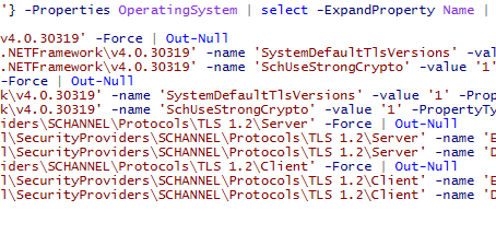 Change All Windows Servers to TLS 1.2 with PowerShell!