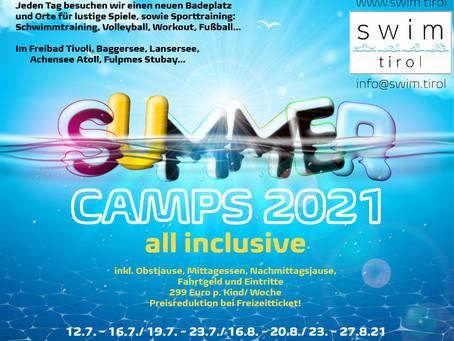 GEWINNSPIEL - SUMMER CAMPs 2021