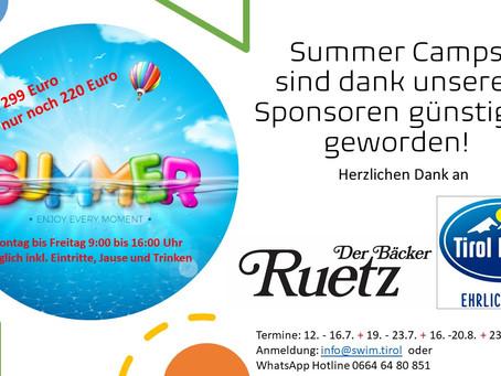 EINFACH NUR DANKE!!! Durch die Unterstützung von Tirol Milch und Bäcker Ruetz...