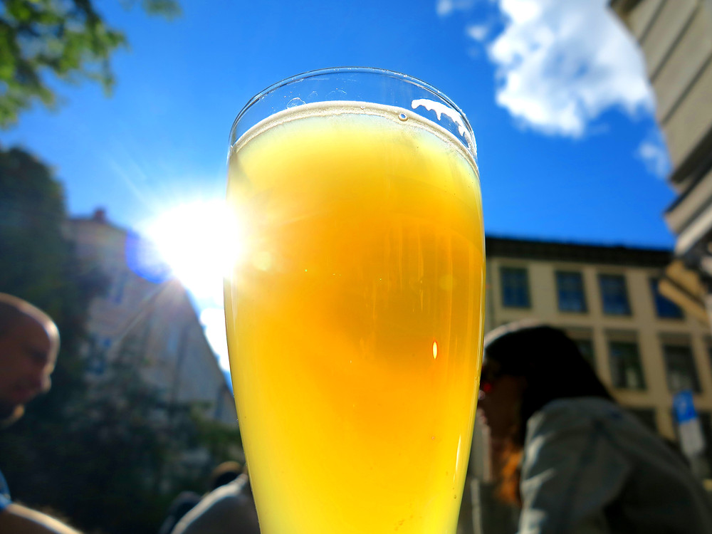 Oslo Norway summer beer horn classical music