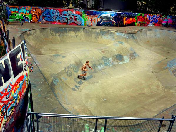 skate park, Oslo 2015