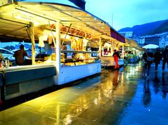 fish market, Bergen, 2015