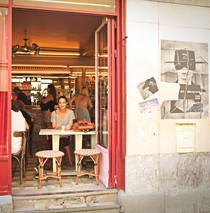 Café des deux moulins, Paris, 2018